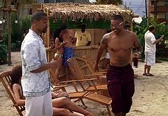 Shemar Moore beach scenes