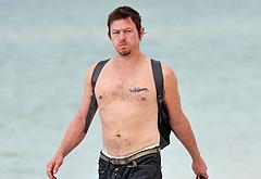 Norman Reedus shirtless