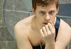 Lucas Hedges naked