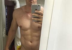 Steve Howey penis selfie