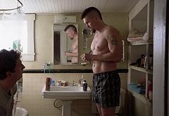 Steve Howey shirtless movie scenes