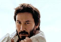 Keanu Reeves shirtless