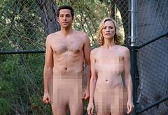 Zachary Levi frontal nude