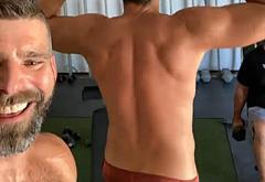 Zachary Levi ass