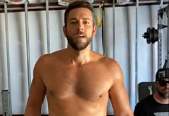 Zachary Levi nude selfie