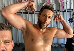 Zachary Levi nudes