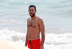 Zachary Levi oops