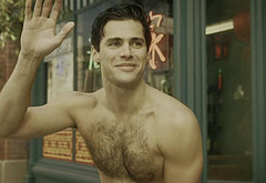 Matthew Daddario shirtless movie scenes