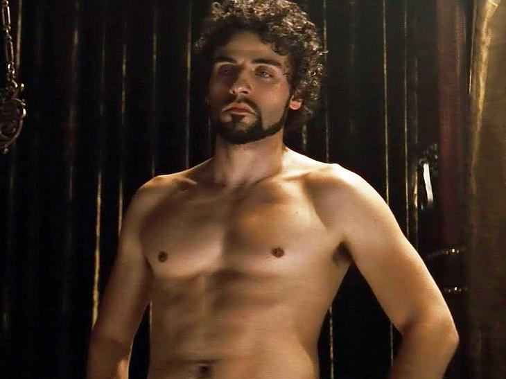 Oscar Isaac nude movie scenes