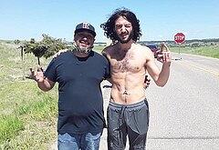 Ezra Miller shirtless photos