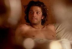 Misha Collins frontal nude