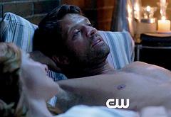 Misha Collins shirtless movie scenes
