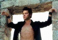 Misha Collins shirtless pics