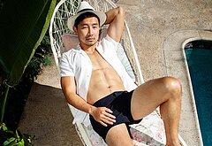 Simu Liu cock photos