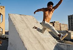 Simu Liu shirtless