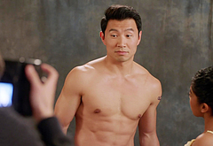 Simu Liu shirtless movie scenes