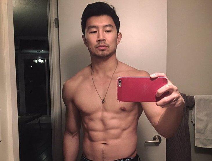 Simu Liu nude selfie