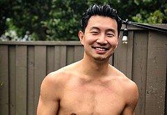 Simu Liu shirtless photos