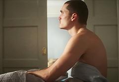 Karl Glusman shirtless video