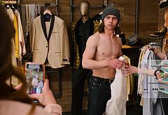 Tanner Buchanan striptease