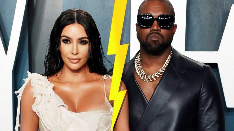 Kanye West & Kim Kardashian Divorce And Share Child Custody