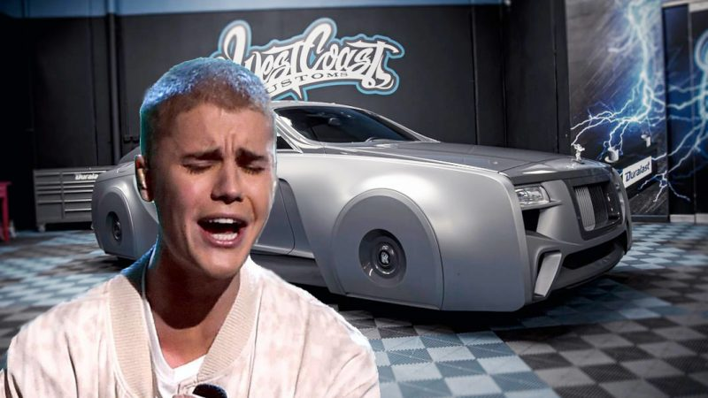 The new version of Rolls-Royce Wraith brought Justin Bieber to tears!