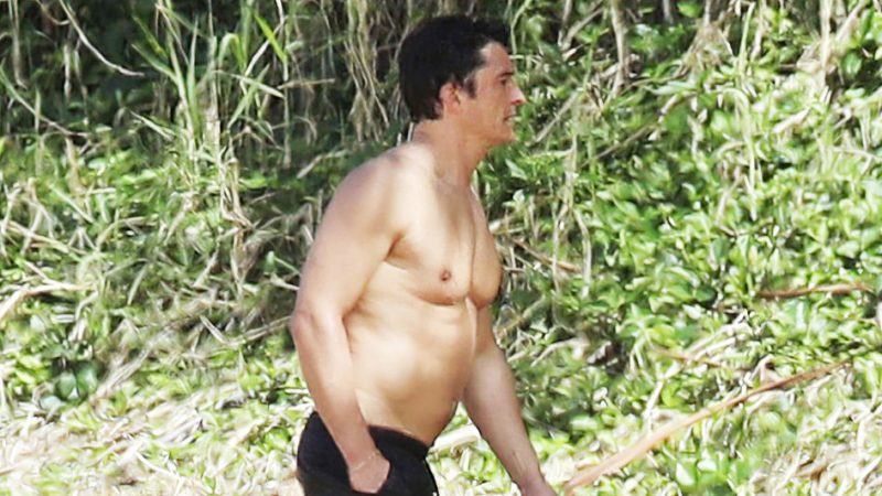 It's getting hot on the beach in Hawaii … Orlando Bloom and Katy Perry are there!