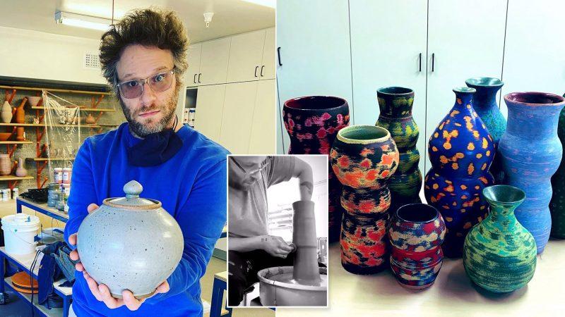 Seth Rogen made thousands of dollars selling a ceramic vase