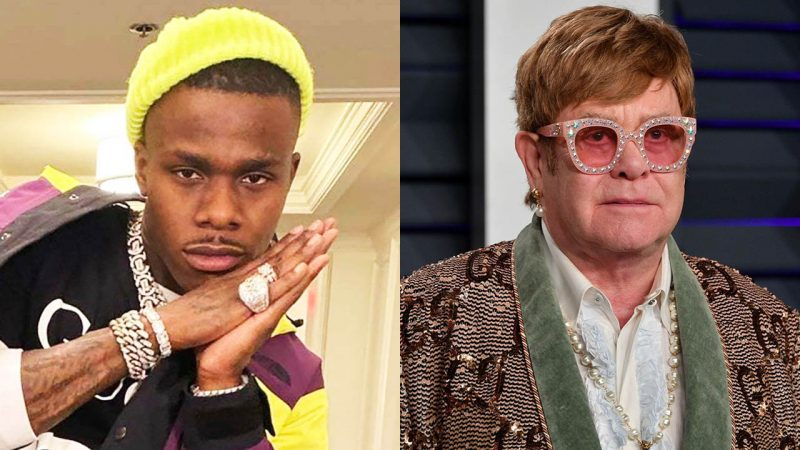 DaBaby gets criticized by Elton John for his inappropriate remarks about homosexuals and HIV