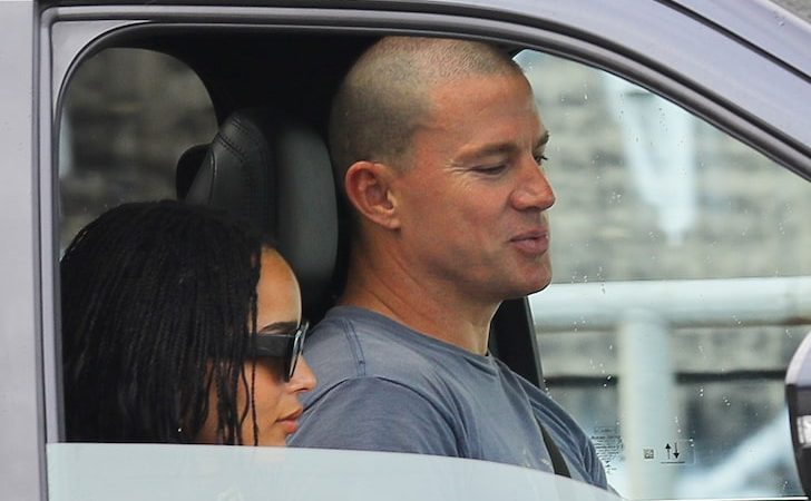 New celebrity couple? Looks like Channing Tatum and Zoe Kravitz spotted on a date