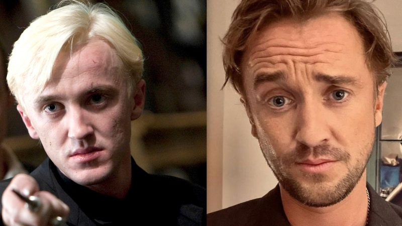 """""""Draco Malfoy"""" Tom Felton passes out during a golf tournament"""
