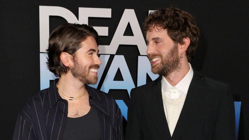 Lovebirds Ben Platt and Noah Galvin attend 'Dear Evan Hansen' Premiere together