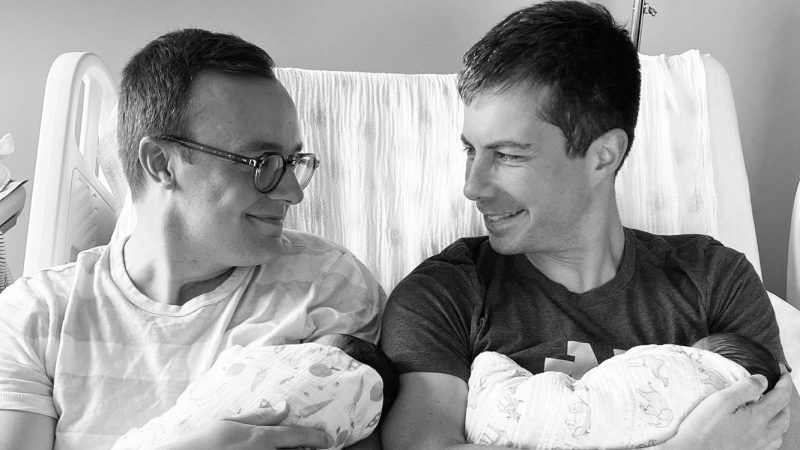 Pete Buttigieg and his husband Chasten are the parents of two babies!
